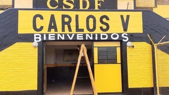 Pintura en el Carlos V