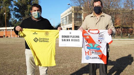 Flandria y Luján se suman a la campaña de donación de plasma