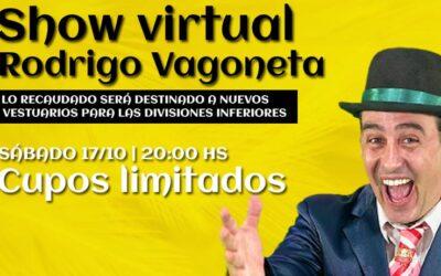 Rodrigo Vagoneta a beneficio de las divisiones inferiores
